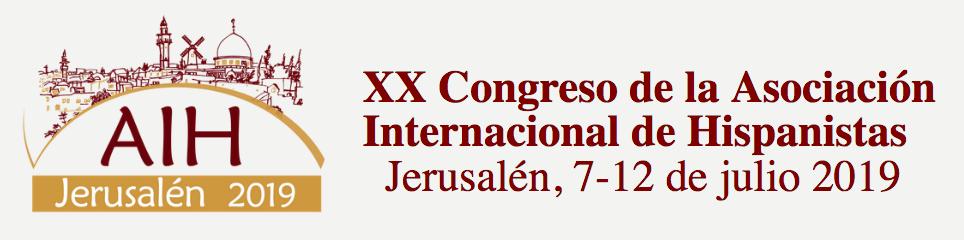 XX Congreso Internacional de la AIH (Jerusalén 2019)